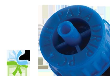 قطره چکان پلبمری خودشوینده تجهیزات آبیاری
