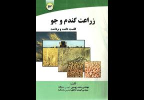 کتاب زراعت گندم و جو آموزش کشاورزی آبیاری گندم