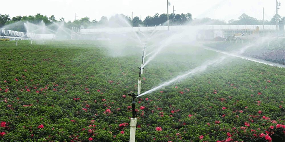 آموزش آبیاری بارانی نگهداری سیستم آبیاری بارانی
