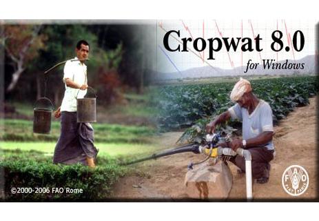 نرم افزار آبیاری cropwat