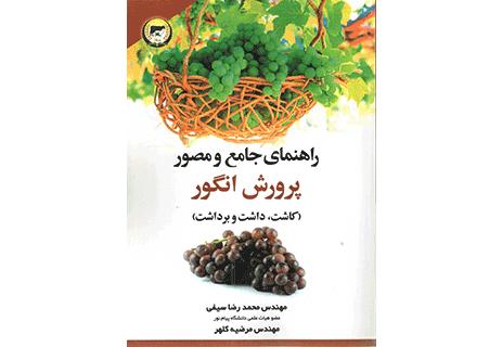 باغ انگور پرورش انگور کاشت انگور آبیاری و آبرسانی انگور برداشت انگور کتاب