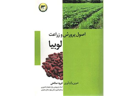 آبیاری لوبیا کاشت لوبیا کشاورزی کتاب پرورش و زراعت لوبیا