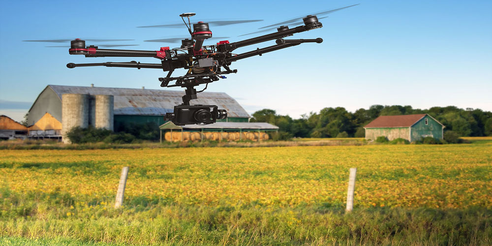 تکنولوژی های جدید کشاورزی – استفاده از کواد یا پهبادهای عمود پرواز