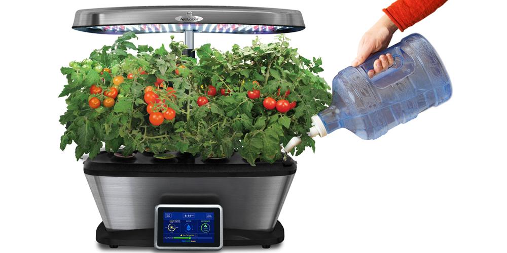 AeroGarden آئروگاردن یا سیستم آبکشت گیاهان آپارتمانی