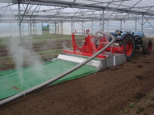 پاستوریزه کردن خاک