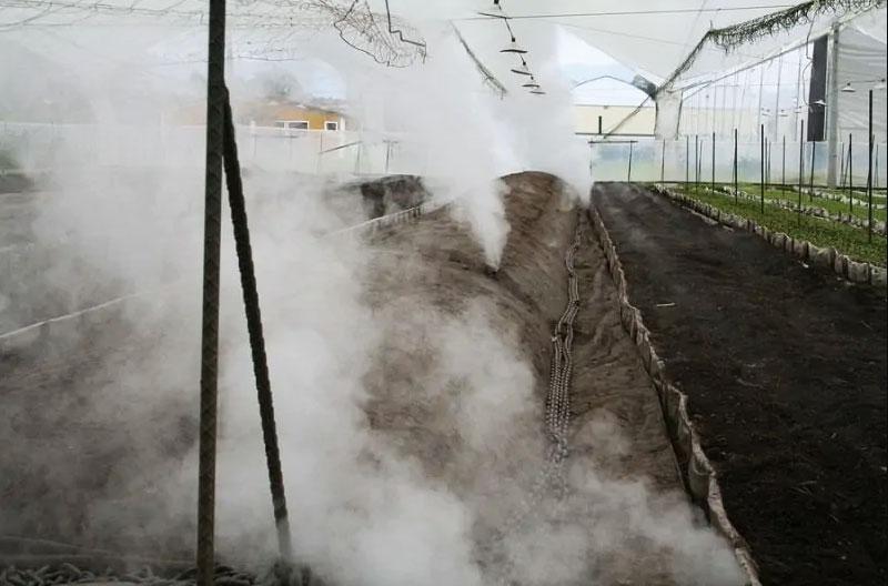 استرلیزه کردن خاک با بخار